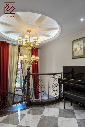 富裕型110平米别墅美式风格楼梯间效果图