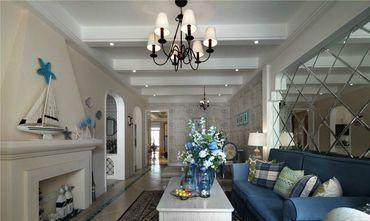 60平米地中海风格客厅装修效果图