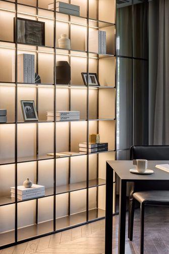 豪华型140平米四室两厅北欧风格书房图