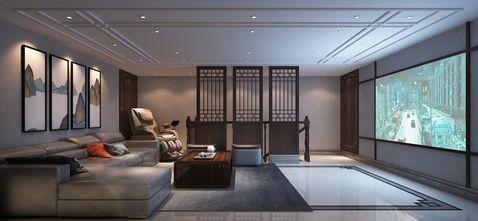 豪华型140平米四室两厅中式风格影音室欣赏图