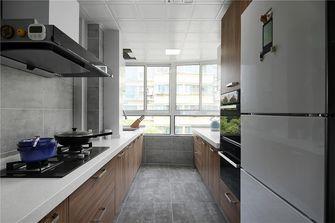 130平米四室一厅现代简约风格厨房图