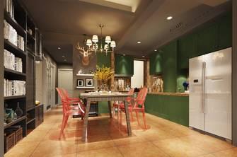 豪华型90平米三室两厅混搭风格餐厅装修案例