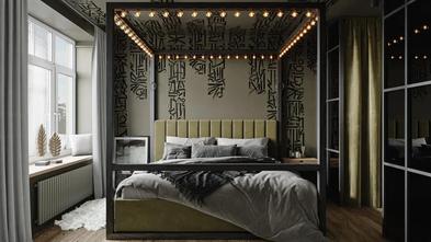 90平米工业风风格卧室装修案例