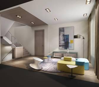 20万以上140平米别墅现代简约风格走廊欣赏图