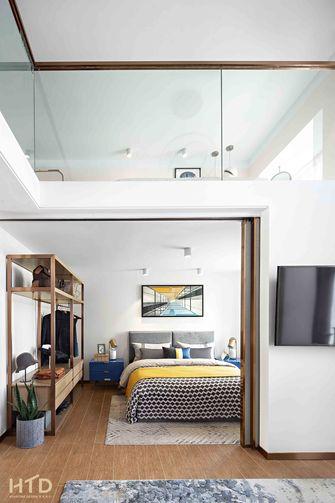 豪华型110平米现代简约风格卧室图