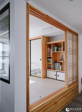 5-10万120平米三室一厅混搭风格书房装修图片大全