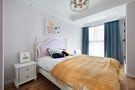 富裕型120平米三室两厅美式风格青少年房设计图