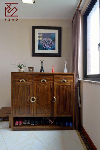 富裕型140平米四室两厅中式风格玄关图
