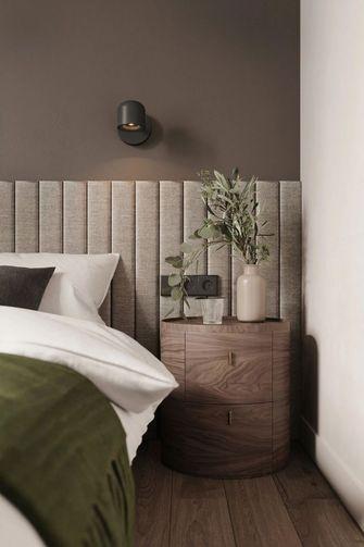 富裕型60平米一居室现代简约风格卧室图