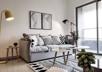 60平米一居室北欧风格客厅图片