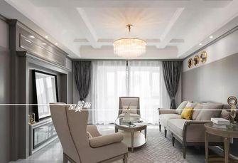 富裕型140平米四室两厅美式风格客厅图片