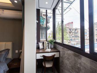 富裕型50平米公寓美式风格阳台装修案例