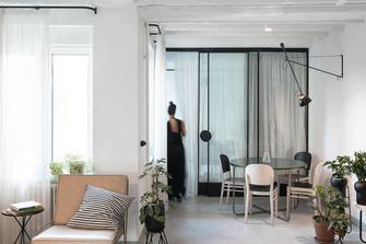 5-10万60平米一室一厅现代简约风格客厅欣赏图