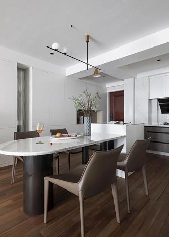 15-20万80平米三室一厅现代简约风格餐厅装修效果图