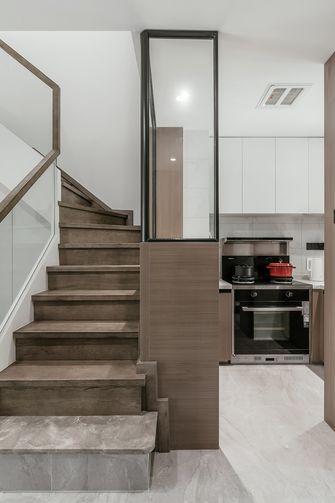 3万以下90平米三室一厅北欧风格楼梯间设计图