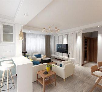 140平米三室一厅现代简约风格客厅欣赏图