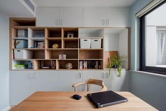 20万以上130平米三室两厅工业风风格书房图片