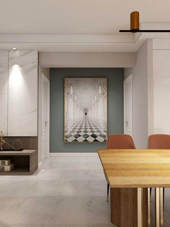 110平米三室两厅混搭风格玄关图片大全
