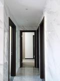 10-15万140平米三室两厅现代简约风格走廊图