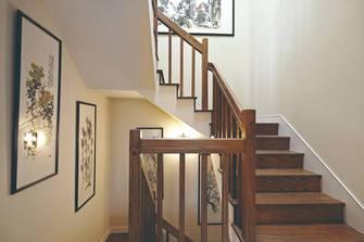 110平米三室两厅欧式风格楼梯间效果图