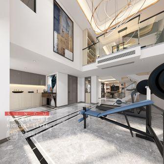 豪华型140平米别墅轻奢风格阳光房装修案例