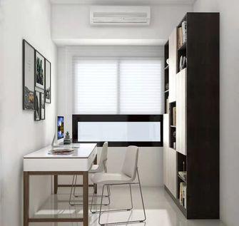 富裕型110平米混搭风格书房装修图片大全