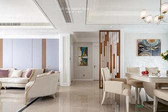 豪华型130平米三室两厅欧式风格客厅图片大全