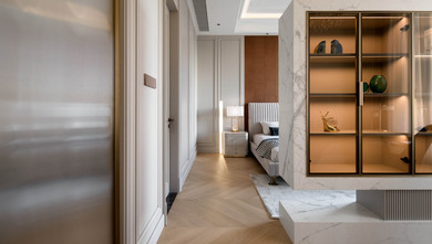 经济型90平米三室一厅法式风格卧室图片