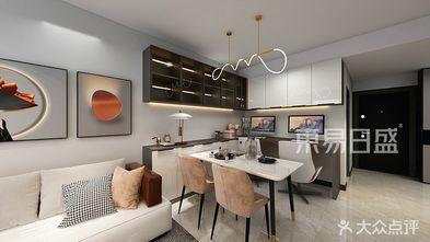 90平米一室两厅现代简约风格餐厅图片大全