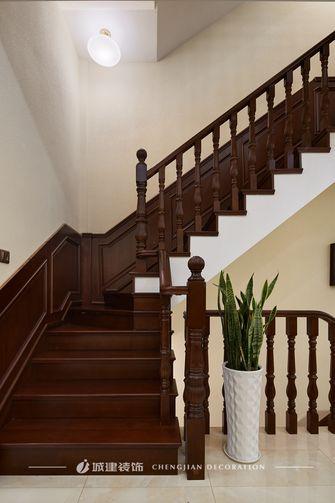 豪华型140平米别墅欧式风格楼梯间图片大全