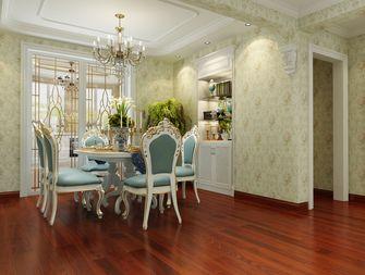 140平米三室两厅新古典风格餐厅装修图片大全