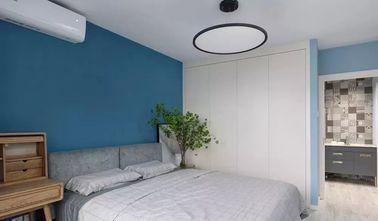 富裕型三室两厅现代简约风格卧室图片大全