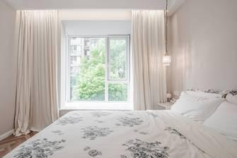 豪华型60平米一居室法式风格卧室装修图片大全