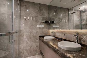 豪华型130平米四室三厅现代简约风格卫生间欣赏图