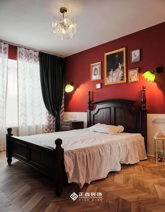 经济型110平米三室两厅法式风格卧室图片大全