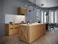 140平米四法式风格厨房装修效果图