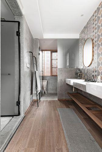 豪华型140平米三室两厅混搭风格卫生间效果图