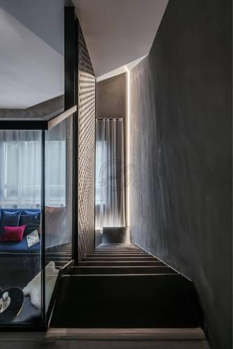 140平米复式轻奢风格楼梯间图