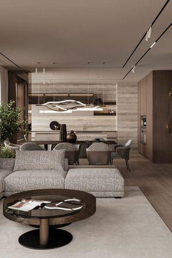 富裕型110平米三室一厅现代简约风格餐厅欣赏图