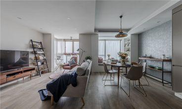90平米公寓北欧风格客厅图