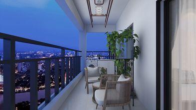 110平米三中式风格阳台装修效果图