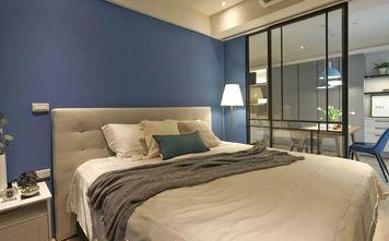 经济型60平米一室一厅现代简约风格卧室图片