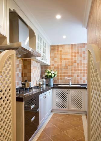 20万以上140平米复式地中海风格厨房设计图