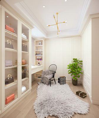 豪华型140平米别墅美式风格衣帽间图