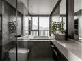 经济型140平米四室两厅现代简约风格卫生间装修案例