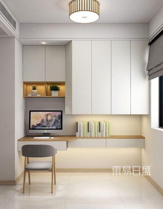 80平米三日式风格书房设计图