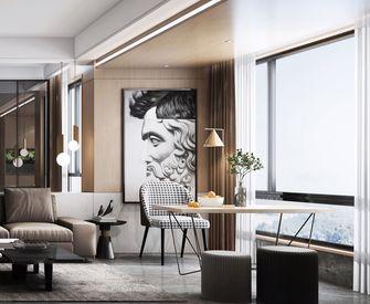 富裕型120平米三室两厅现代简约风格阳台效果图