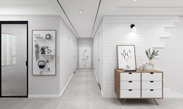 经济型100平米三室两厅北欧风格走廊装修图片大全