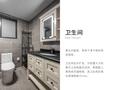 富裕型70平米美式风格卫生间装修案例