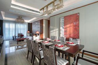 140平米四室一厅中式风格餐厅效果图